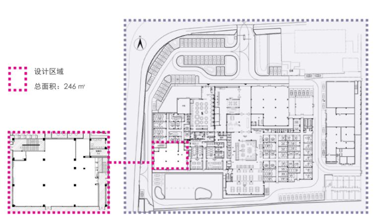 [上海]吴中路全季美学生活展示馆方案文本-总平面图