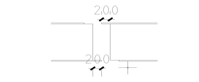 高层综合服务中心钢结构吊装施工专项方案-09 对接缝采用错缝