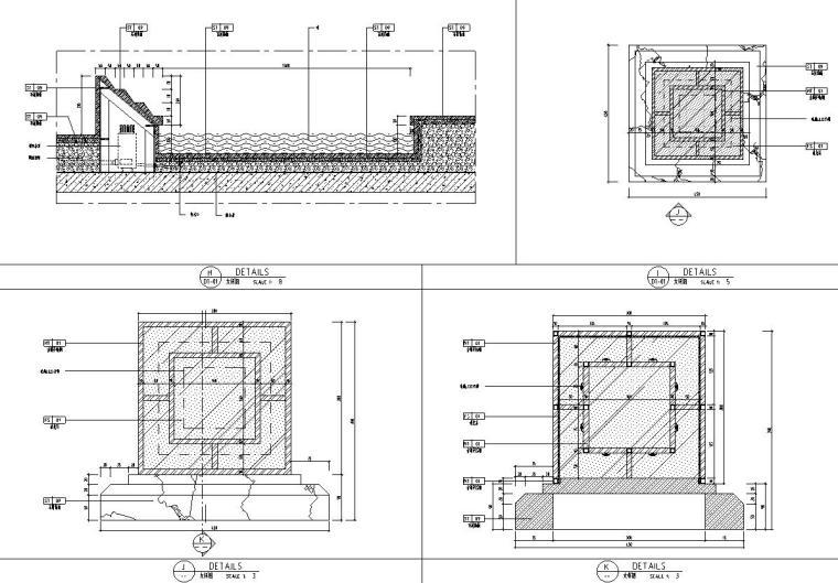 帝凯室内设计-重庆金辉城样板房方案施工图-三层露台详图2