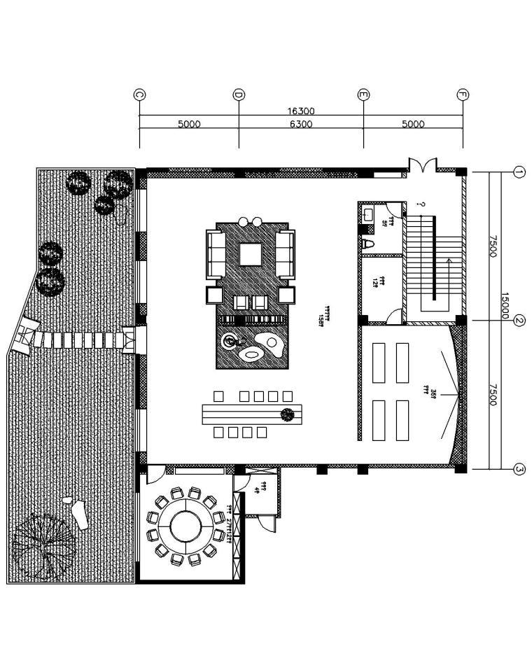 [上海]吴中路全季美学生活展示馆方案文本-一层平面图