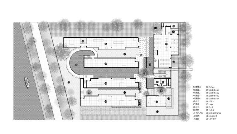 北京运河美术馆平面图