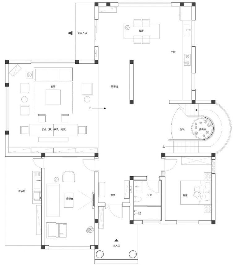 成都江安别墅平面图 (2)