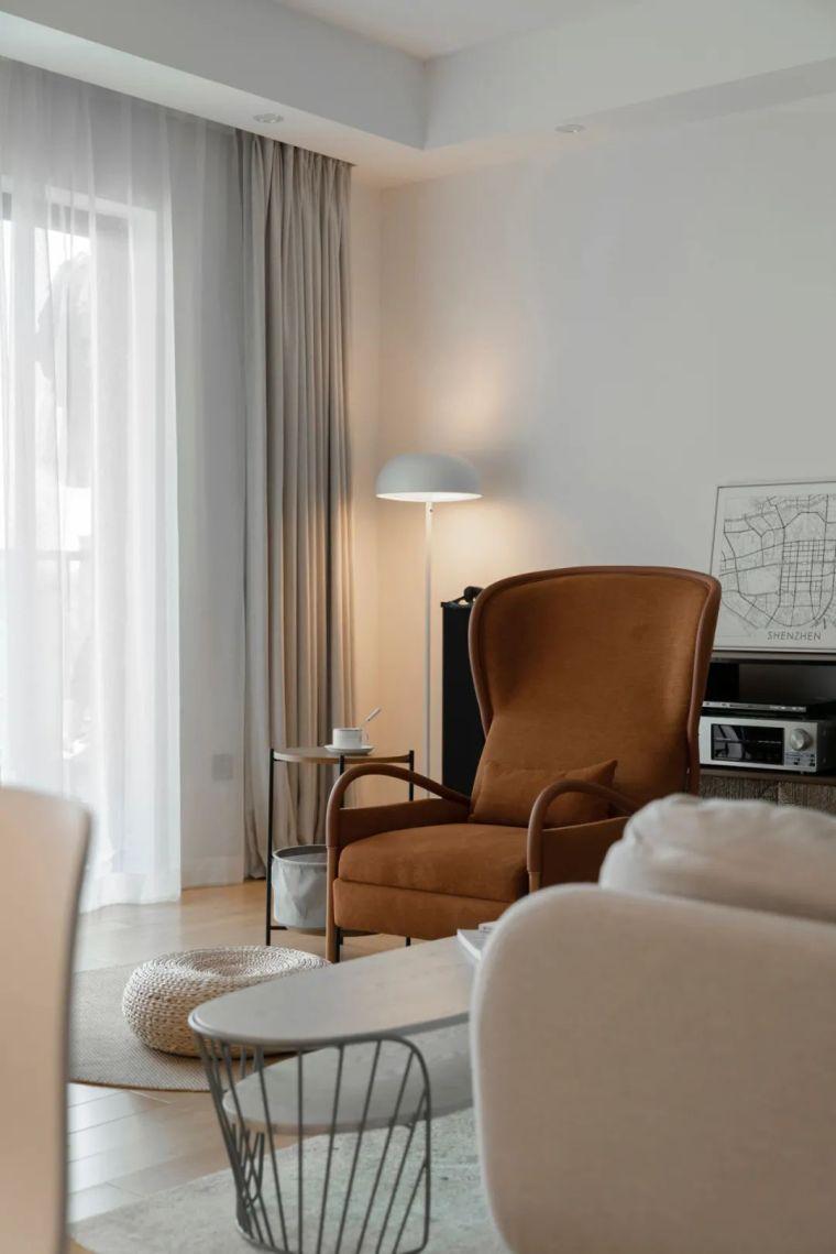 不要电视,120m²日式风格家装设计_9