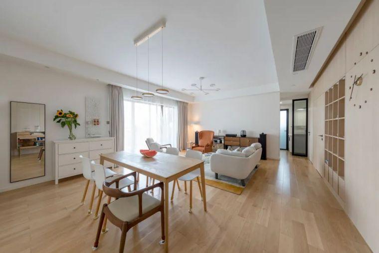 不要电视,120m²日式风格家装设计_10