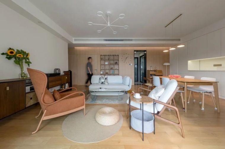 不要电视,120m²日式风格家装设计_1