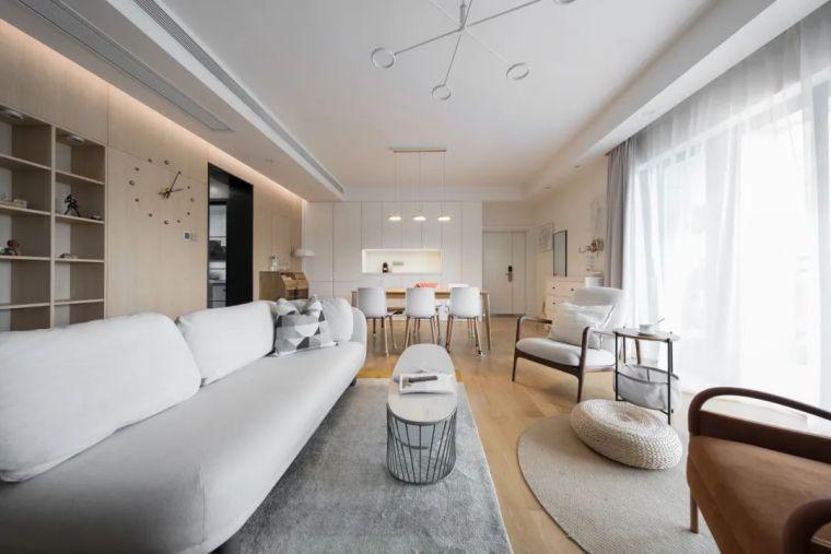 不要电视,120m²日式风格家装设计_3