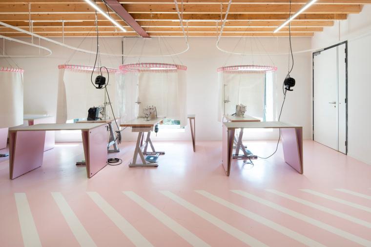 荷兰Zadkine时尚学习研讨会室内实景图3