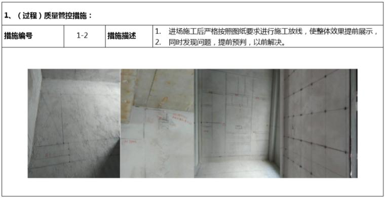 房地产公司成品房质量控制手册(118页)-(过程)质量管控措施