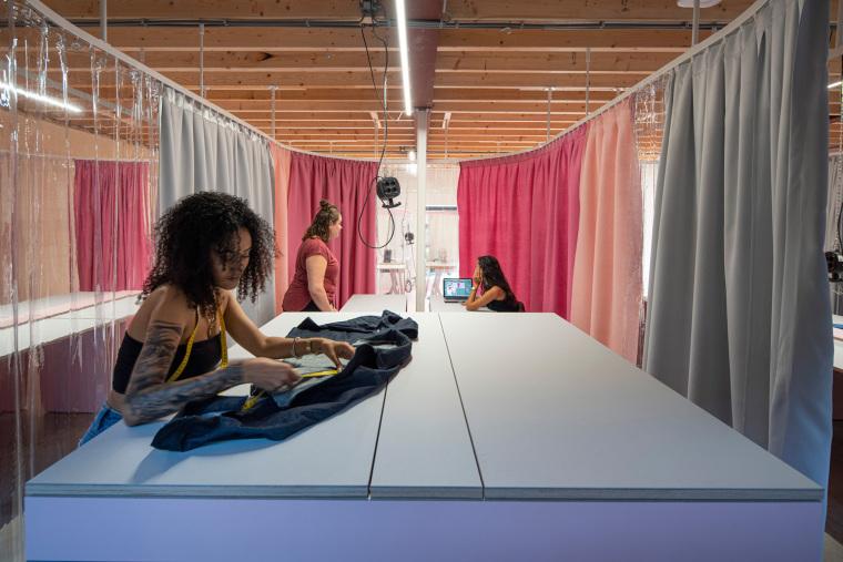 荷兰Zadkine时尚学习研讨会室内实景图4