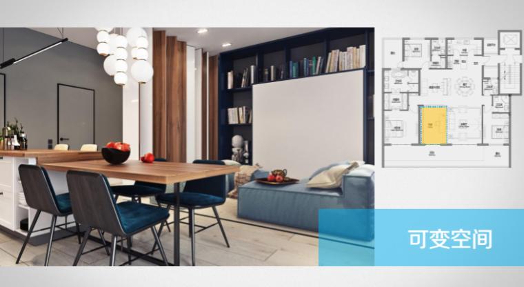 房地产公司户型标准化研发(150页)-可变空间