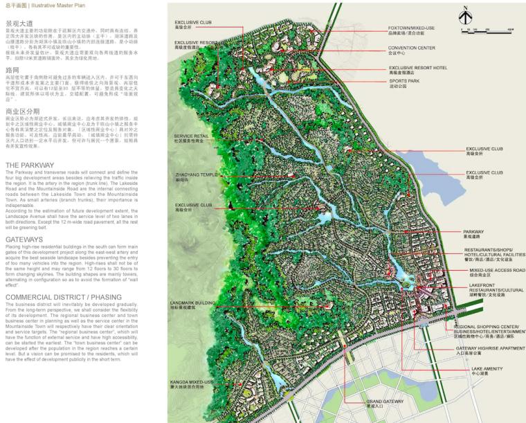 [山东]青岛小珠山城市片区景观设计方案-总平面图