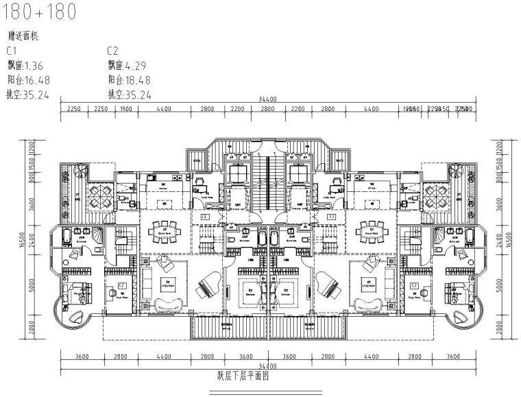 清新风格住宅户型图设计汇总 (1)