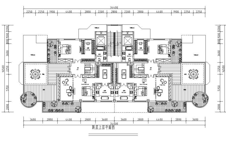 清新风格住宅户型图设计汇总 (2)