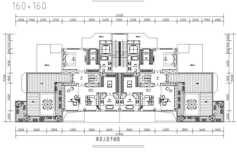 清新风格住宅户型图设计汇总 (5)