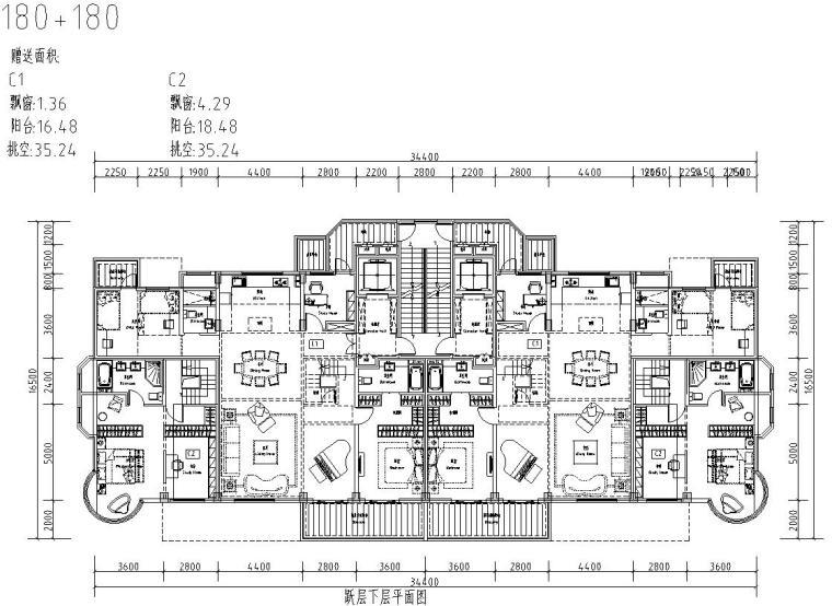 清新风格住宅户型图设计汇总 (3)