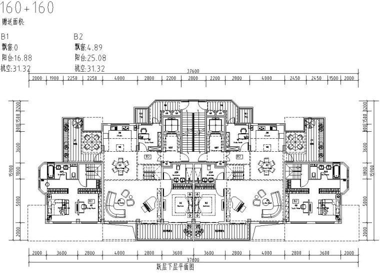 清新风格住宅户型图设计汇总 (4)