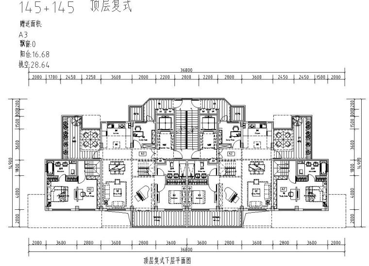清新风格住宅户型图设计汇总 (6)