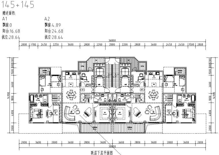 清新风格住宅户型图设计汇总 (7)