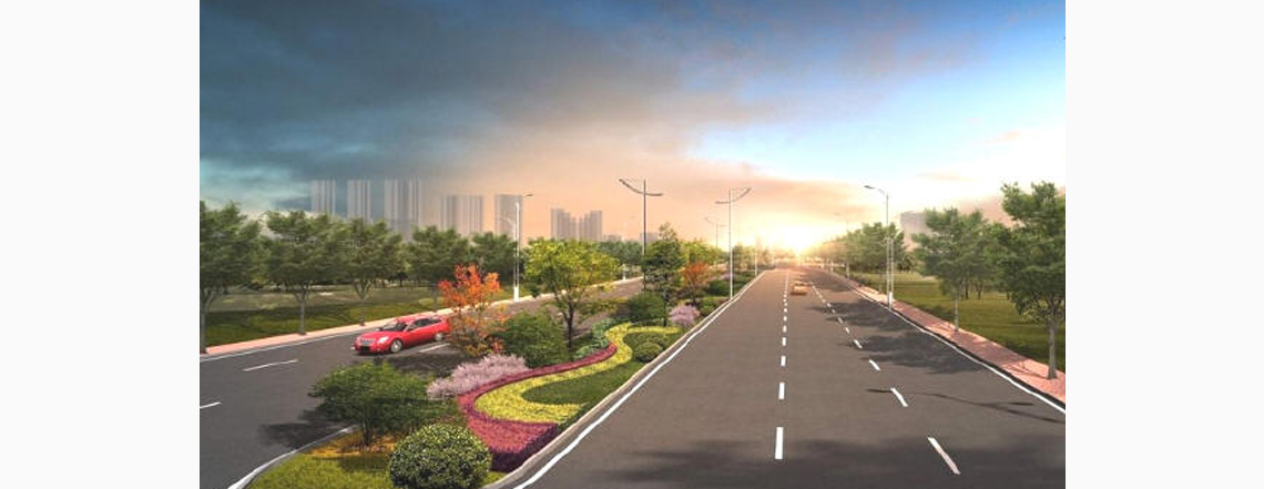 城市道路设计技巧