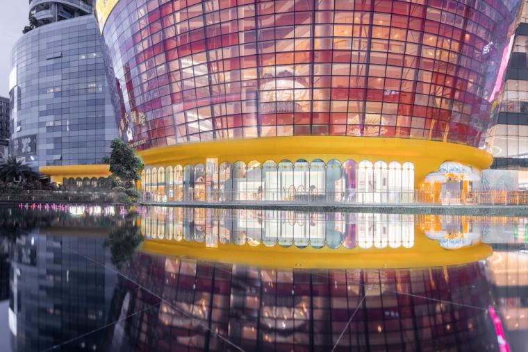 深圳奈尔宝家庭中心外部实景图
