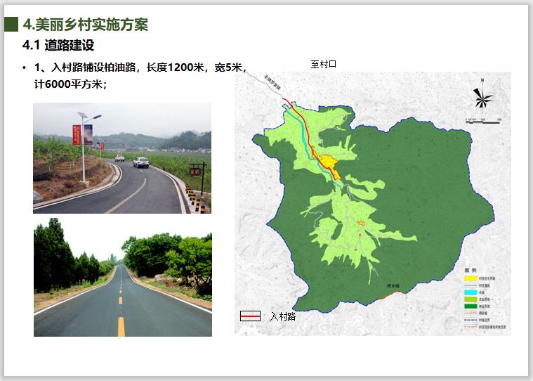 北京市东牛角峪村美丽乡村规划(2018-2035)-道路建设