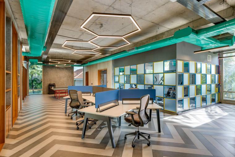印度INVESTRIBE办公大楼内部实景图
