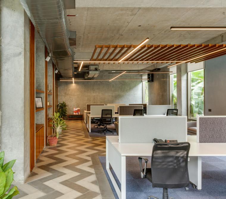 印度INVESTRIBE办公大楼内部实景图8