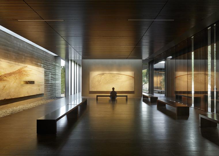 美国Windhover冥想中心内部实景图