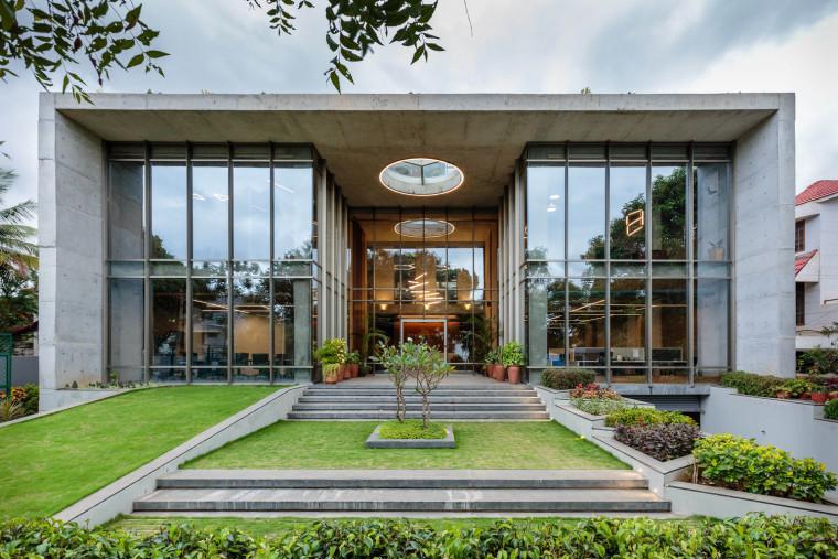 印度INVESTRIBE办公大楼外部实景图