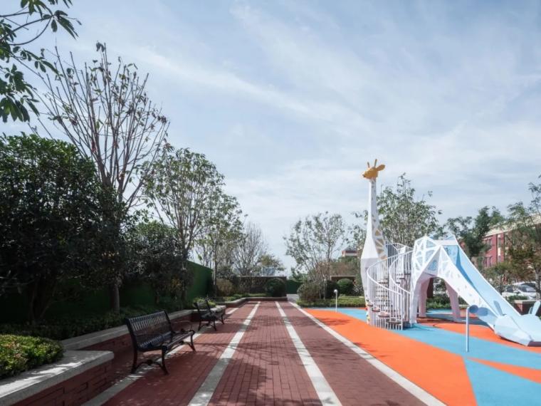西安金地·乐华·翰林艺境示范区景观实景图 (6)
