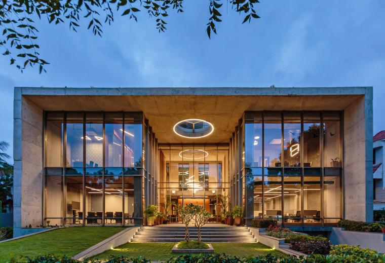 印度INVESTRIBE办公大楼外部实景图5