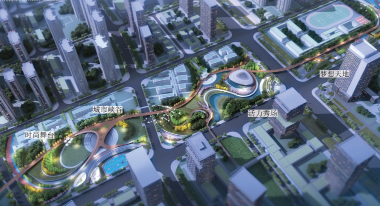 [山东]青岛海洋活力滨海广场绿地景观设计-文化公园香效果图