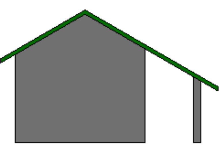 Revit软件技巧1.3.17基于墙的屋顶创建-屋顶编辑