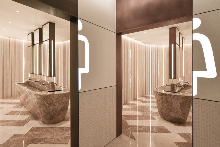 北京蓝色港湾公共空间改造室内实景图14