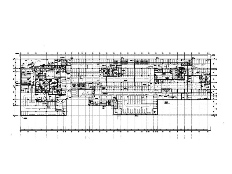[广州]超高层办公楼电气施工图-2电力平面图_副本