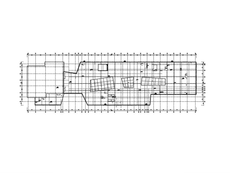[广州]超高层办公楼电气施工图-3防雷平面图_副本
