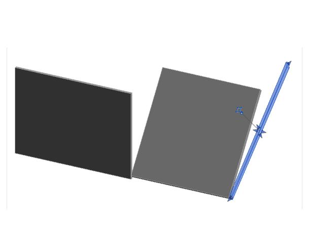 Revit软件技巧1.3.14revit中如何绘制斜墙-使用拉伸命令