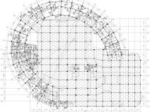 [上海]5层钢框架结构社区中心全套图纸2018