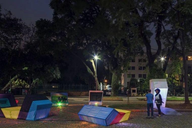互动式街头艺术景观家具!_13
