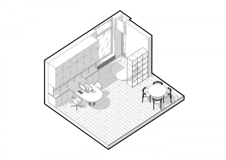 厨房会隐身,年轻人的家就是这么任性!_10