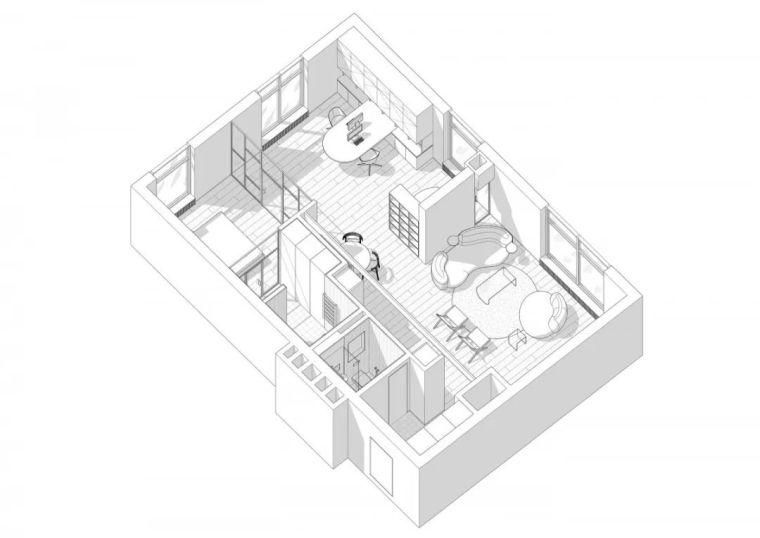 厨房会隐身,年轻人的家就是这么任性!_31