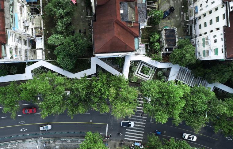 上海昌里园改造实景图