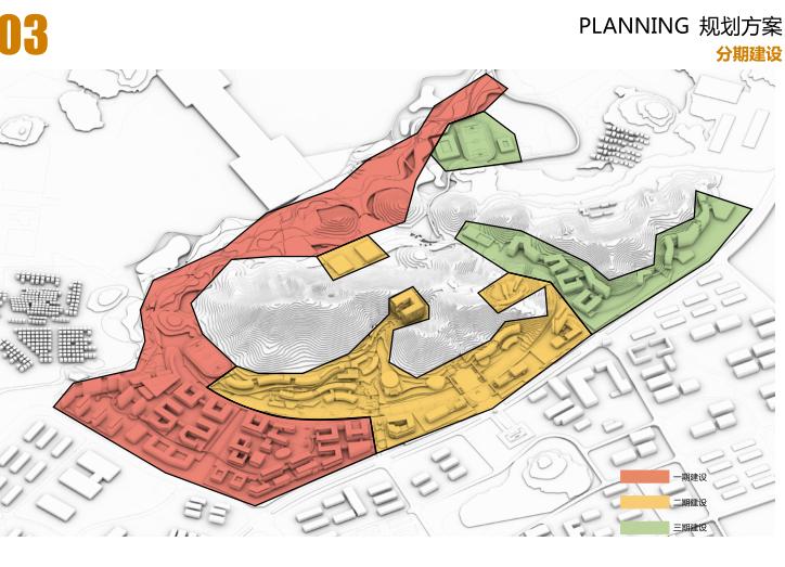 中山大学深圳建设工程总体规划建筑设计2016-分期建设