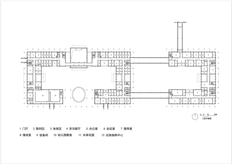 保定雄安党工委管委会及雄安集团办公楼平面图1