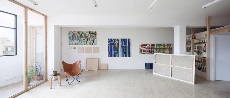 西班牙艺术家VictorPérez-Porro工作室室内实景图5
