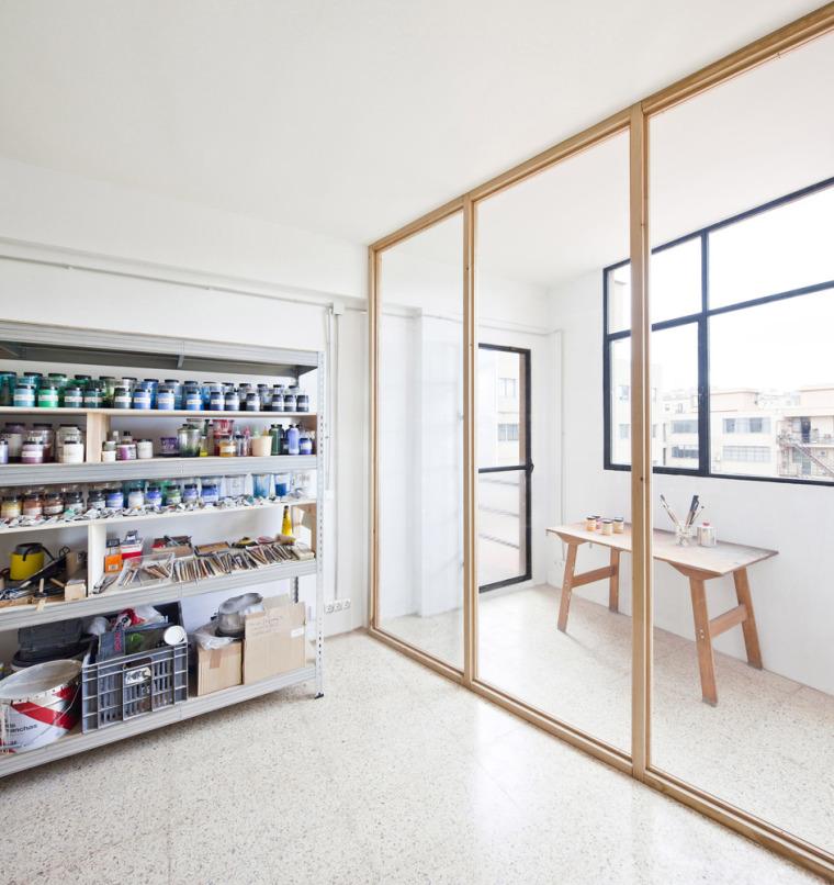 西班牙艺术家VictorPérez-Porro工作室室内实景图7