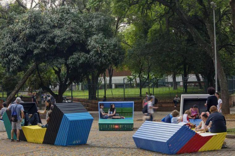 互动式街头艺术景观家具!_2