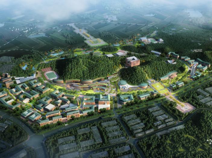 中山大学深圳建设工程总体规划建筑设计2016