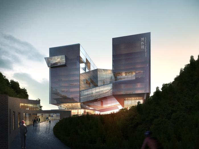 中山大学深圳建设工程总体规划建筑设计2016-效果图1