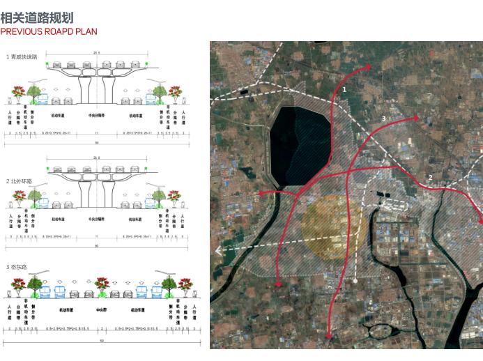 世界动车小镇国家创新中心概念规划城市设计-相关遁路规划